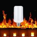 Lángot imitáló LED lámpa, hogy a kültéri fali lámpád úgy nézzen ki, mintha tűz égne benne