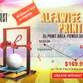 Alfawise U20 az 5 perc alatt összeszerelhető otthoni 3D nyomtató