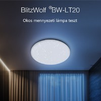 BlitzWolf BW-LT20 teszt - Az okos mennyezeti lámpa