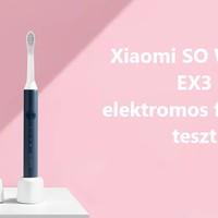 SO WHITE EX3 elektromos fogkefe teszt
