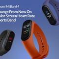 Xiaomi Mi Band 4 a TomTop webáruházban
