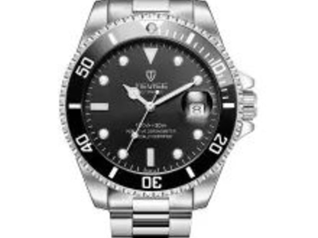MEGIR 2002 Quartz Men Watch Three Working Sub dials