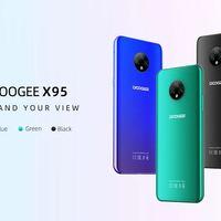 20.000 forintaz Android 10-es DOOGEE X95