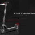 Alfawise X7 elektromos roller Ninebot ES köntösben!