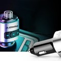 Alfawise QC3.0 FM transzmitter teszt - Gyorstöltő, zene és telefon az autóban