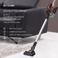 Vezeték nélkül a lakás és az autó takarítása is könnyebb! - BlitzWolf BW-AR182 porszívó