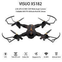Olcsóbb a FullHD-s kamerájú VISUO XS812 drón, mint a HD felbontású verzió!