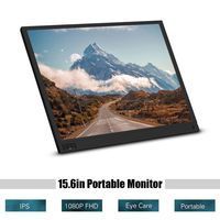 Hordozható 15.6 colos monitor 1080p felbontással