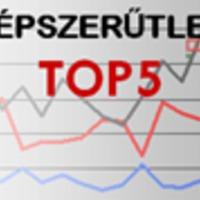 Népszerűtlen TOP5 - 1. hét