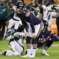 Doug Pederson nem csak a Bears kickerét, az egész stadiont lefagyasztotta
