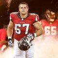 10 szezon után visszavonult a Falcons támadófalembere