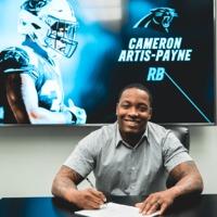 Cameron Artis-Payne visszatér a Panthers csapatához egy egyéves szerződéssel