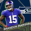 Brandon Marshall a Seattle Seahawks-nál folytatja