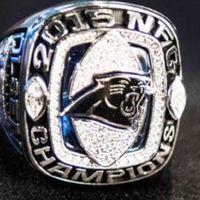 A Panthers megkapta az NFC Championship gyűrűket