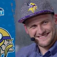 Nem hitte el, hogy meghívták a Draftra és történelmet írt a Vikings által kiválasztott német elkapó (videó)
