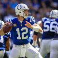 Andrew Luck és a Colts bombaformában, szétszedték a Bills-t