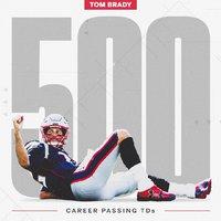 Brady 500!