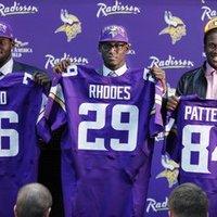 A Minnesota Vikings aláírt mindhárom elsőkörös választottjával