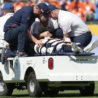 Fél órára lebénult a Denver Broncos védője