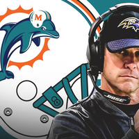 A Miami Dolphins is tradelhet John Harbaugh-ért