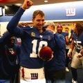 Eli Manning-et álló ovációval búcsúztatták az utolsó hazai mérkőzésén