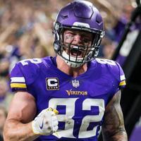 Kyle Rudolph 36 millióért hosszabbított a Vikings-al