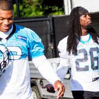 DJ Moore és Donte Jackson közel voltak ahhoz, hogy a Falcons csapatához kerüljenek