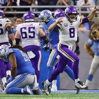 Belejött a Vikings, 72 pontos mérkőzésen nyert a Lions ellen