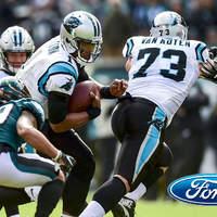 A Panthers történelmi fordítása az Eagles ellen