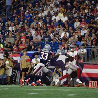 Preseason week 4: Giants 31 Patriots 29