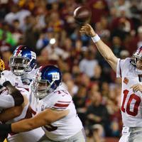 Mérkőzés összefoglaló: Redskins 14 - 45 Giants