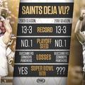 A múlt alapján a Saints nyeri a Super Bowl-t
