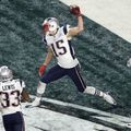 A Patriots-os Chris Hogan volt az utolsó elkapó aki elkapott touchdownt szerzett a Super Bowl-on