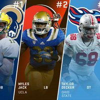A Rams trade utáni Mock Draft