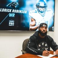 Aldrick Robinson egy egyéves szerződést ír alá a Panthers csapatával
