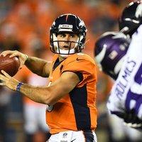 A Broncos elsőkörös irányítóját megint lejátszotta egy hetedik körös