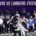 Chargers - Ravens értékelő