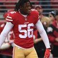 A 49ers három kezdőjátékosa is megsérült a Colts ellen - RH