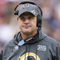 A Washington Redskins kirúgta vezetőedzőjét Jay Gruden-t