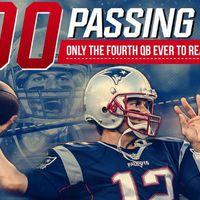 Tom Brady átlépte a 400 passzolt touchdownt