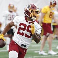 Az egész szezonra kiesett a Redskins újonc running backje