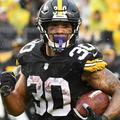 A Steelers kezdő running backje nem lép pályára a Bengals ellen