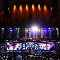 A Drafton szereplő főiskolás játékosok erősorrendje