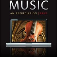 :ONLINE: Music: An Appreciation, 7th Brief Edition. Nadia entire disclose Android relieves Virtual Cielo