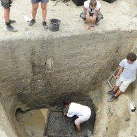 Európa legrégebbi kútját találták meg a Tiszánál 2018 nyarán