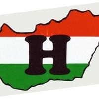 Kis-Magyarországos matricával kampányolnak, mert van akinek nem tetszik a Magyarország matrica