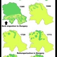 Szerb betelepülés Magyarország déli területeire