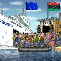 Politic Troll - FRONTEX