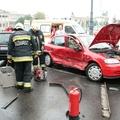 Opel és Ford karambolja Budapesten