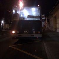 Hátsó világítás nélküli BKV busz